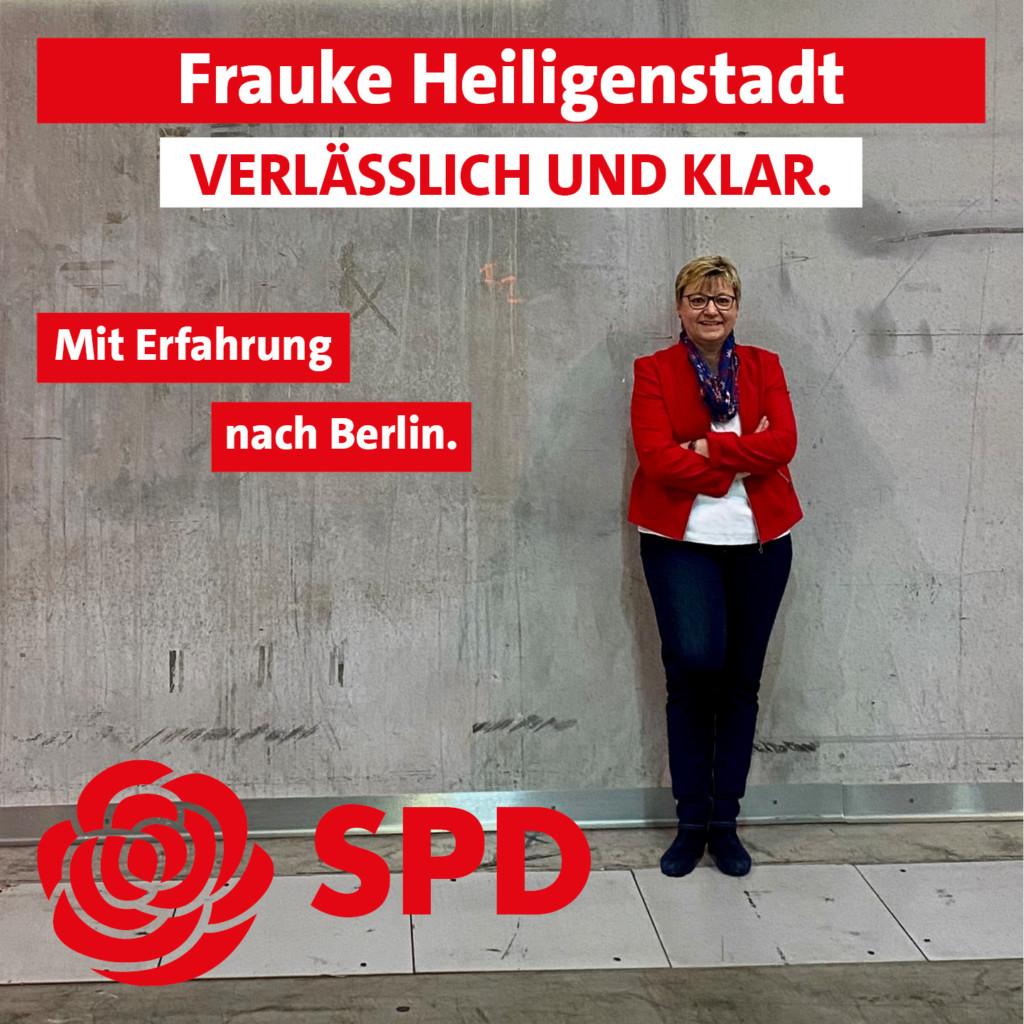 Bundestagskandidatin Frauke Heiligenstadt
