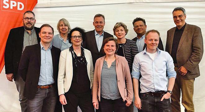 UB-Vorstand 2018